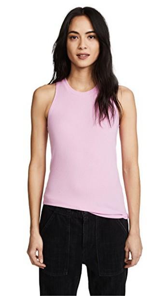 Cotton Citizen light pink light pink top