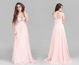 dress pink prom gown princess dress jewels pink dress gown pink prom dresses princess dresses