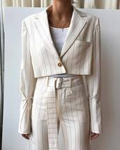 jacket,white jacket