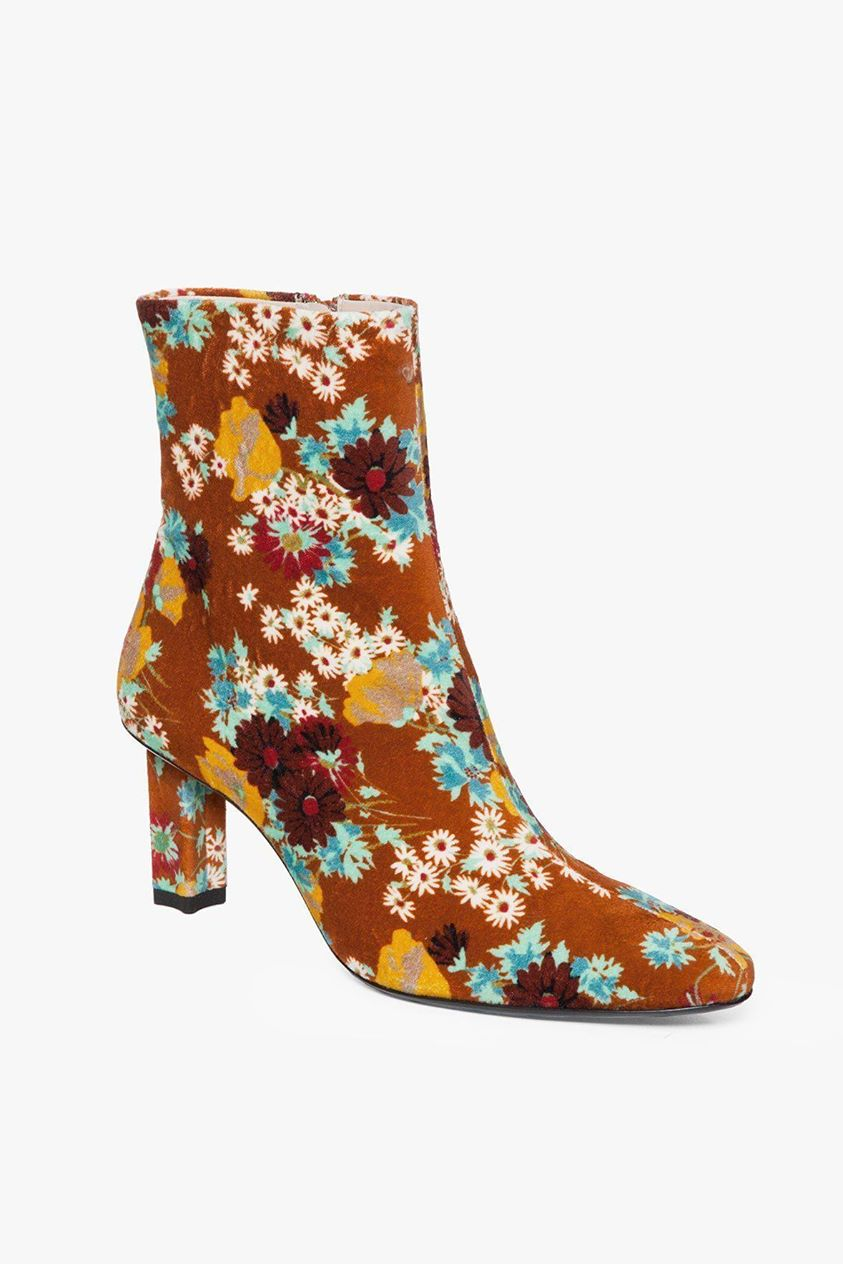 BRANDO BOOT | RUST FLORAL