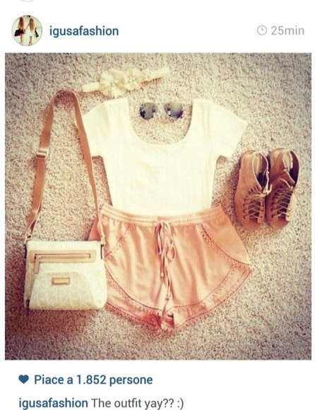 shoes wedges high heels bag tank top shorts summer summer wedges