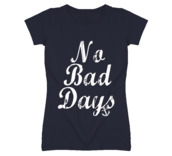 t-shirt,anchor,no bad days,graphic tee,sailor