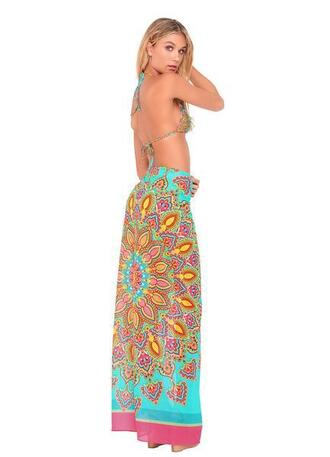 swimwear cover up luli fama print bikiniluxe