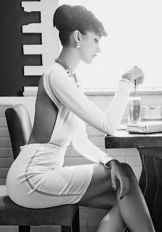 dress white dress classy classy dress