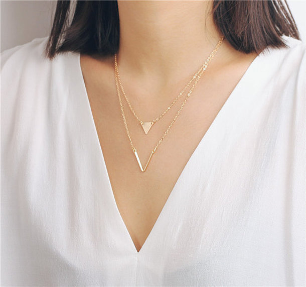 charms crystal layering dainty necklace minimal charm tiny pendants pave pendant