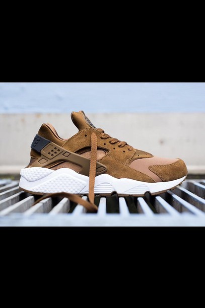 shoes nike huarache brown