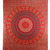 Buy Hippie Mandala Print Red Tapestry Online - HandiCrunch.com