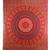 Buy Hippie Mandala Print Red Tapestry Online - HandiCrunch.com