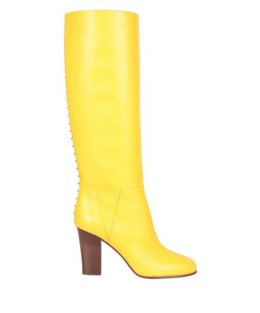 Valentino Garavani leather boots leather shoes