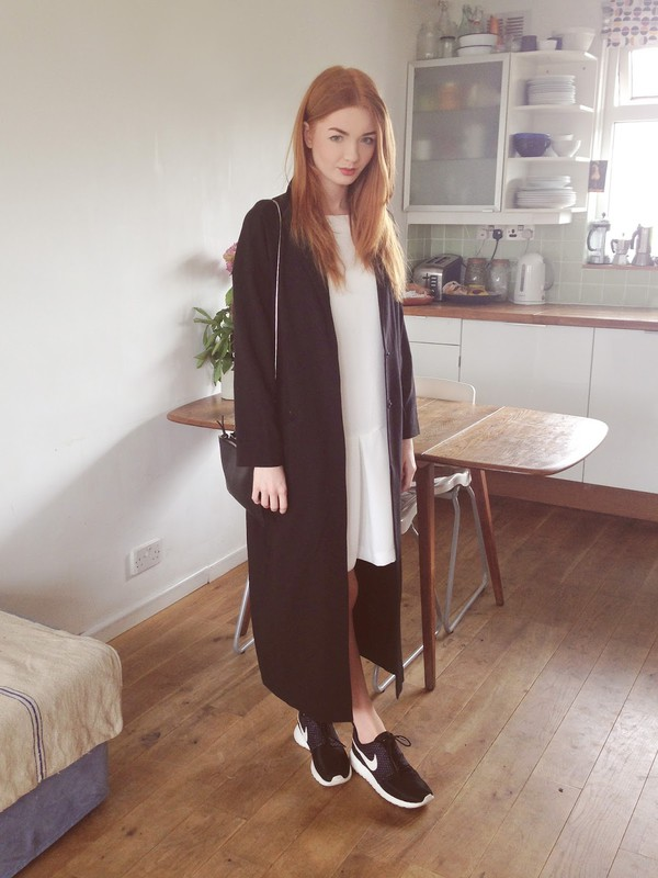 hannah louise fashion bag dress coat