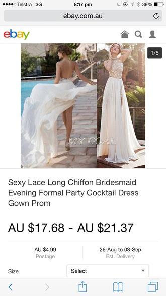 dress gold white long dress white long dress with lace top gold shoes white long dress with gold belt