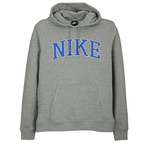 Nike Club Felt PO Hoodie - Men's - Casual - Clothing - Dk ...