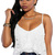 Solid Color V Neck Spaghetti Straps Camisole