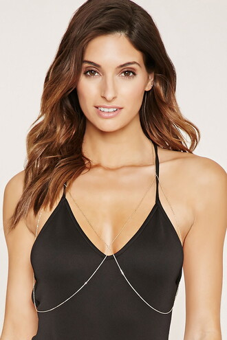 jewels body chain forever 21