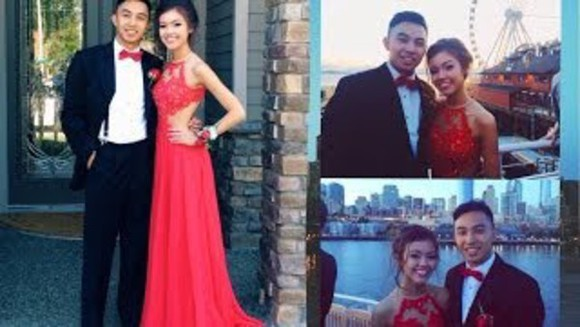 red dress lace dress prom long prom dress
