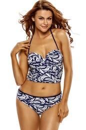 swimwear,lace up,sexy swimsuit,halter neck,strappy swimwear,tropical swimwear,floral swimwear