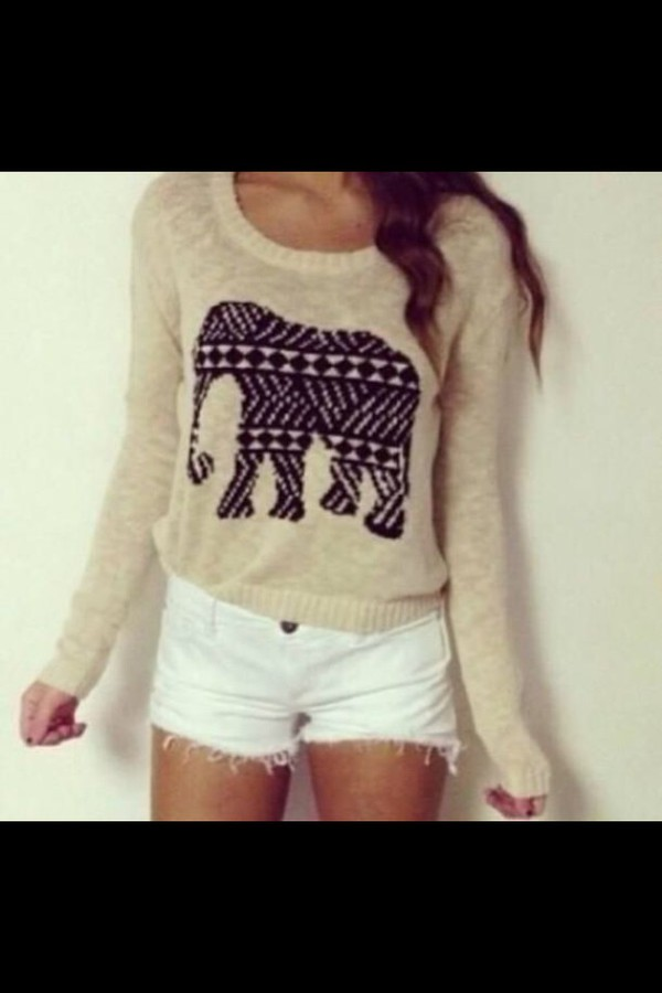 aztec design elephant print white shorts aztec dress aztec tribal. tribal dress