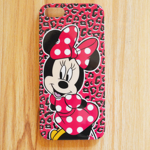For iphone5 5s cases minnie mickey mouse cell phone cases free shipping