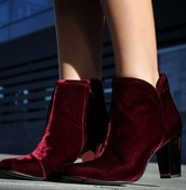 shoes,lady addict merlot booties