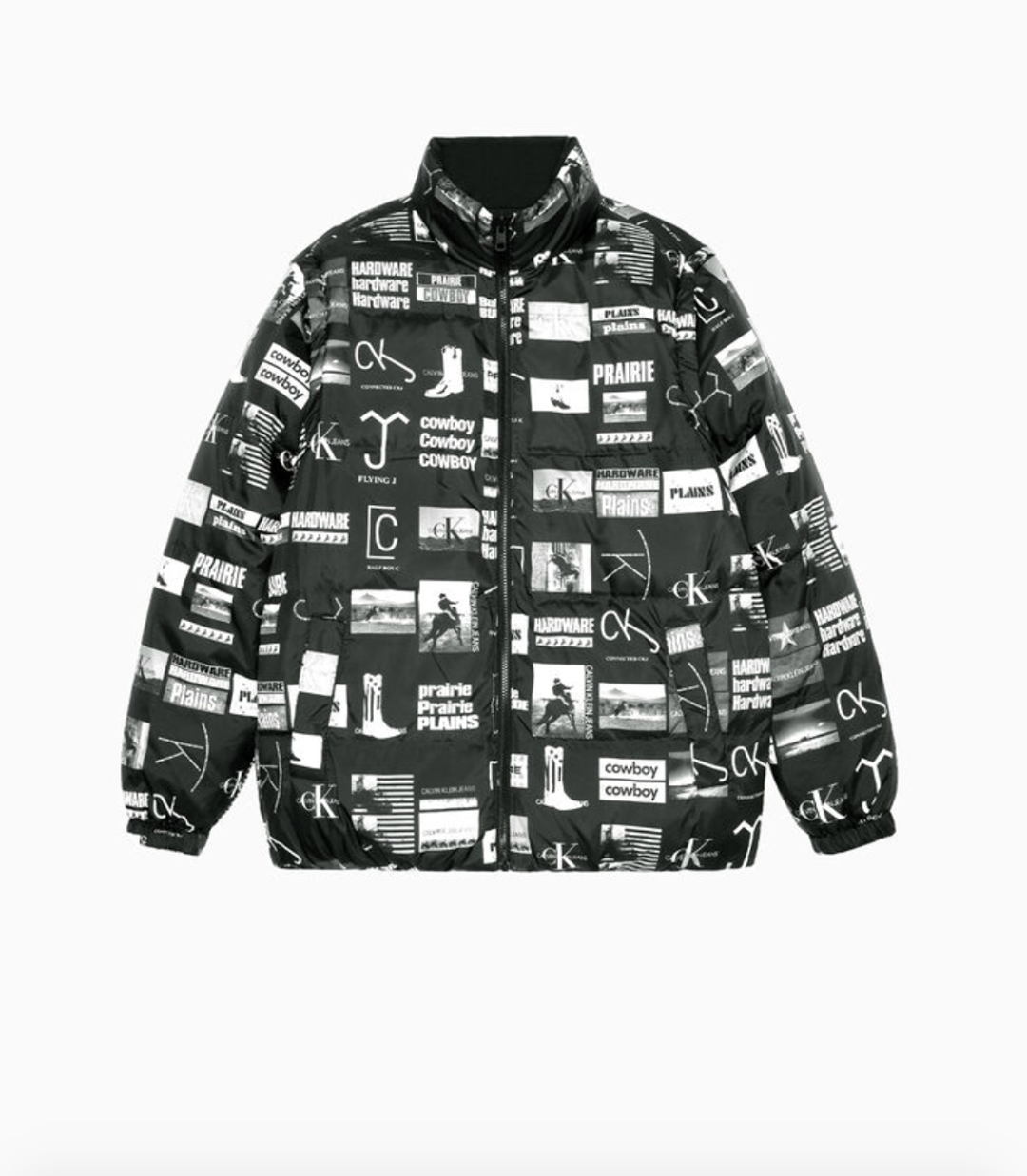 Reversible Down Puffer Jacket