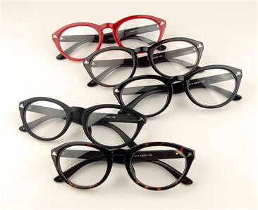 unisex wayfarer plated eyeglasses frame s s