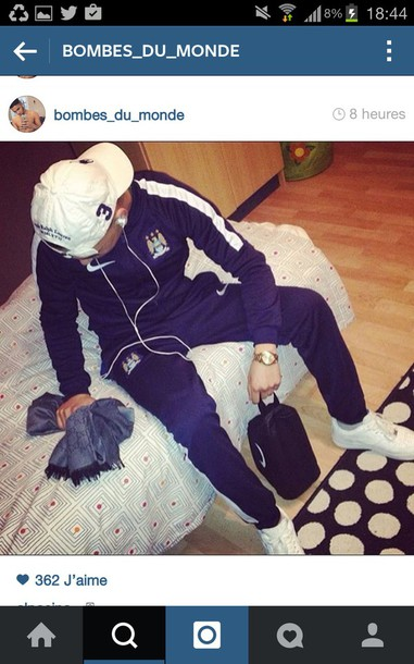 pants foot maillot foot jacket instagram nike tracksuit