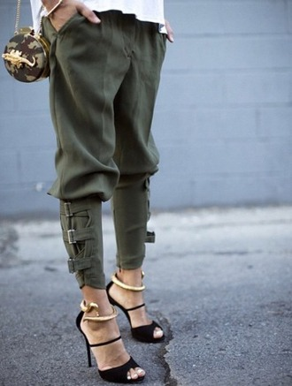 pants army green pants army pants shoes