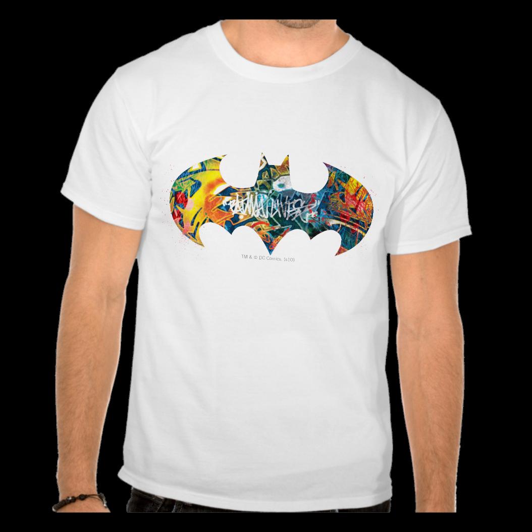 Batman Logo Neon Unisex T Shirt – Mpcteehouse.com