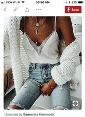 blouse,white,cute,silk,lace,top,fashion,summer,jeans,denim,spring,tan,tank top,hot,cool,style,shirt,jewels,blue,light blue,love,ripped jeans,casual,outfit,white blouse,flowy,sweater,white top,white sweater,any color