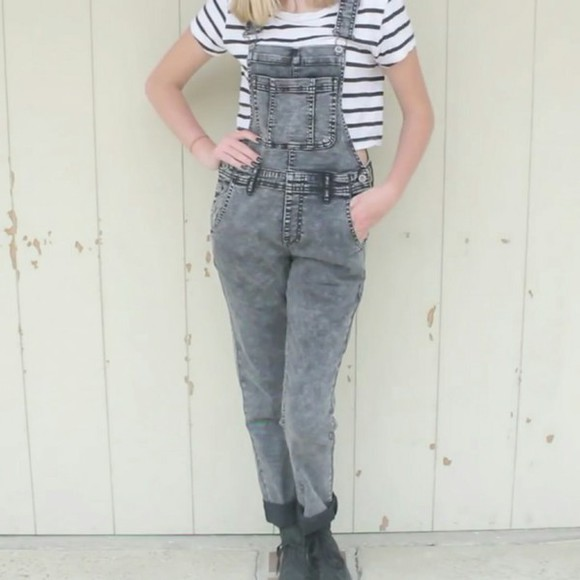 jeans overalls maddi bragg you tuber acid wash pacsun don't sell anymore help a girl out to find a similar one obsessed with these black acid wash