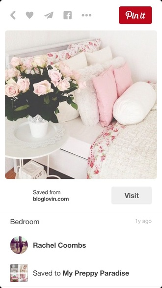 home accessory girly bedding bedroom