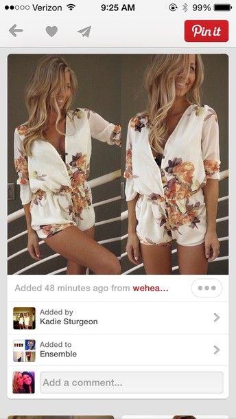 dress floral romper party short floral romper