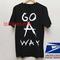 Go a way music t shirt