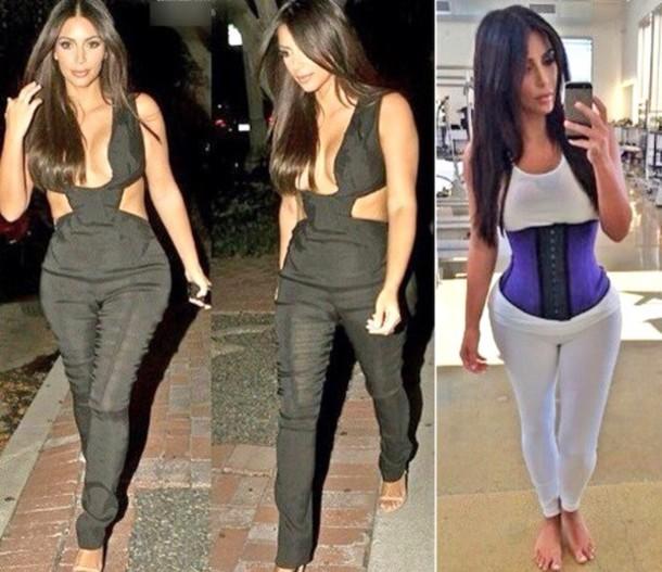 b470bdce818 kim kardashian waist training workout waist cincher kim kardashian fitness  band belt kim kardashian kim kardashian