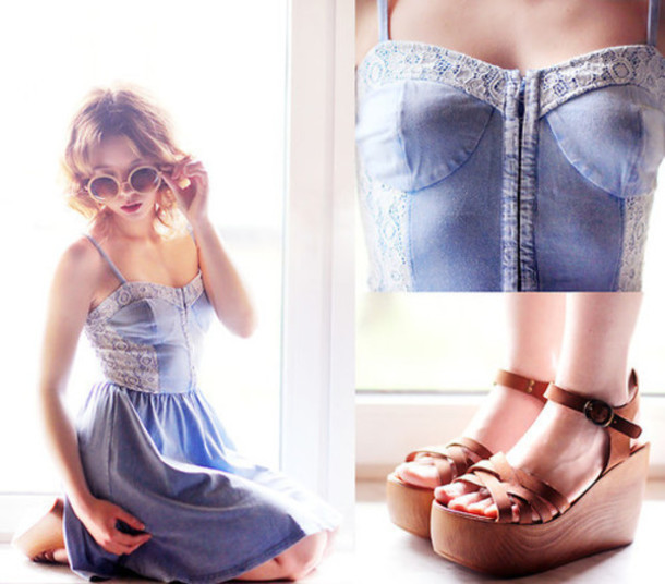 dress denim denim dress blue dress blue cute cute dress summer dress summer