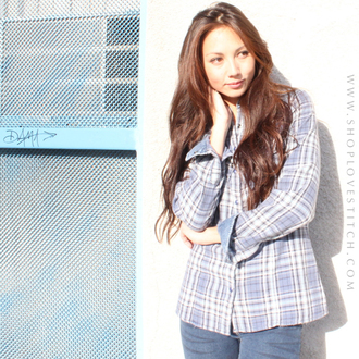 shirt lovestitch plaid plaid shirt button down casual trending tops spring 2015