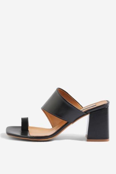 Topshop mules black shoes