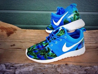 shoes blue and green