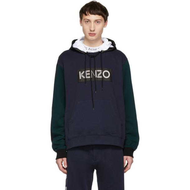 hoodie navy sweater