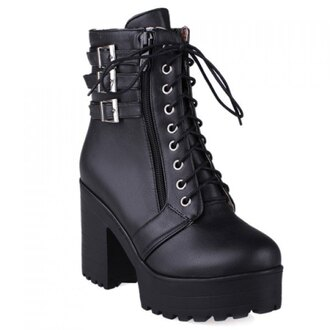 shoes boots rose wholesale lace up platform shoes goth goth shoes punk gothic lolita pastel goth mid heel boots casual