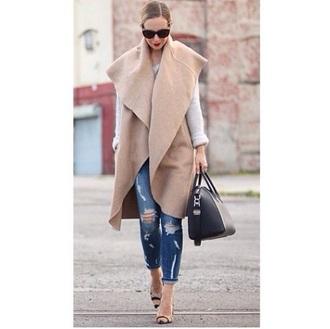 trench coat camel