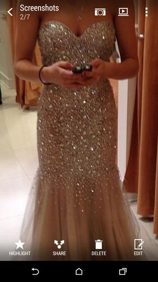 prom dress fitted dress sparkly dress graduation dress