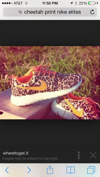 shoes leopard print nike roshe run nike running shoes