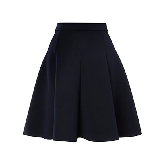skirt black skirt whistles neoprene skater skirt skater skirt