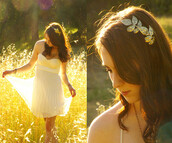 jewels,leaves,leaf headband,gold,headband