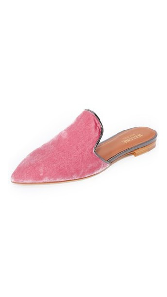 MALONE SOULIERS pink charcoal shoes