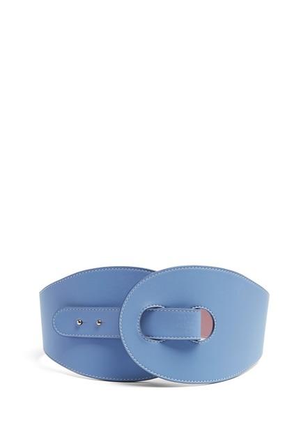 Roksanda belt leather blue