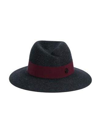 hat fedora grey
