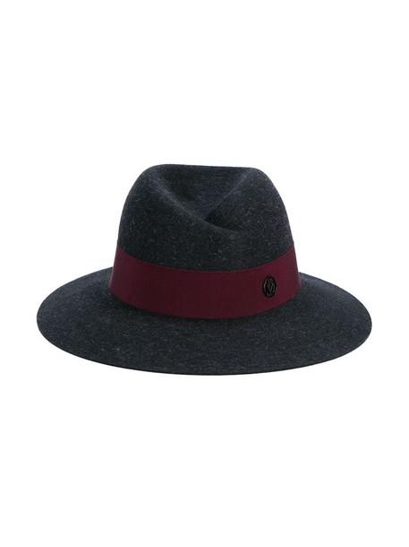 Maison Michel hat fedora grey