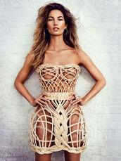 dress,transparent,nude,beige,beige dress,naked,tumblr